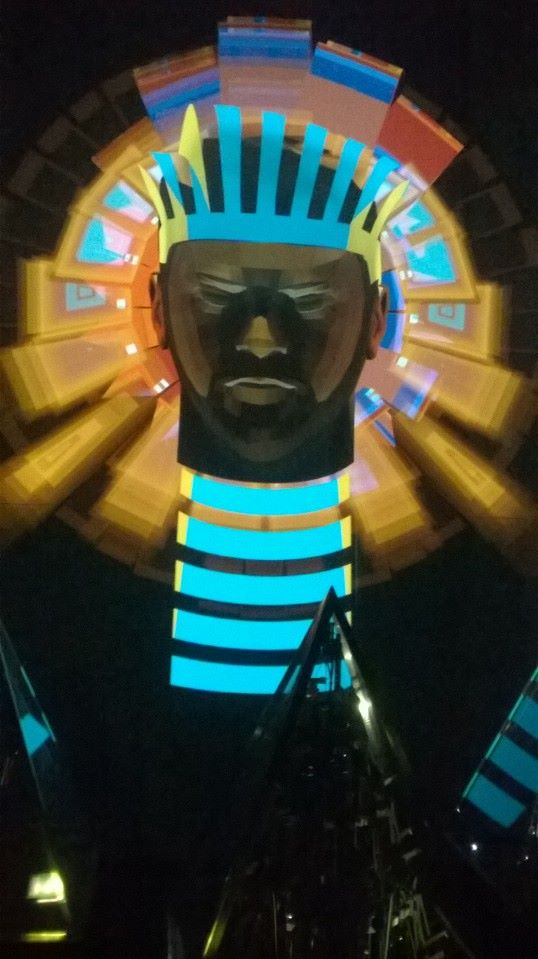 will.i.am as a Phaoroah.