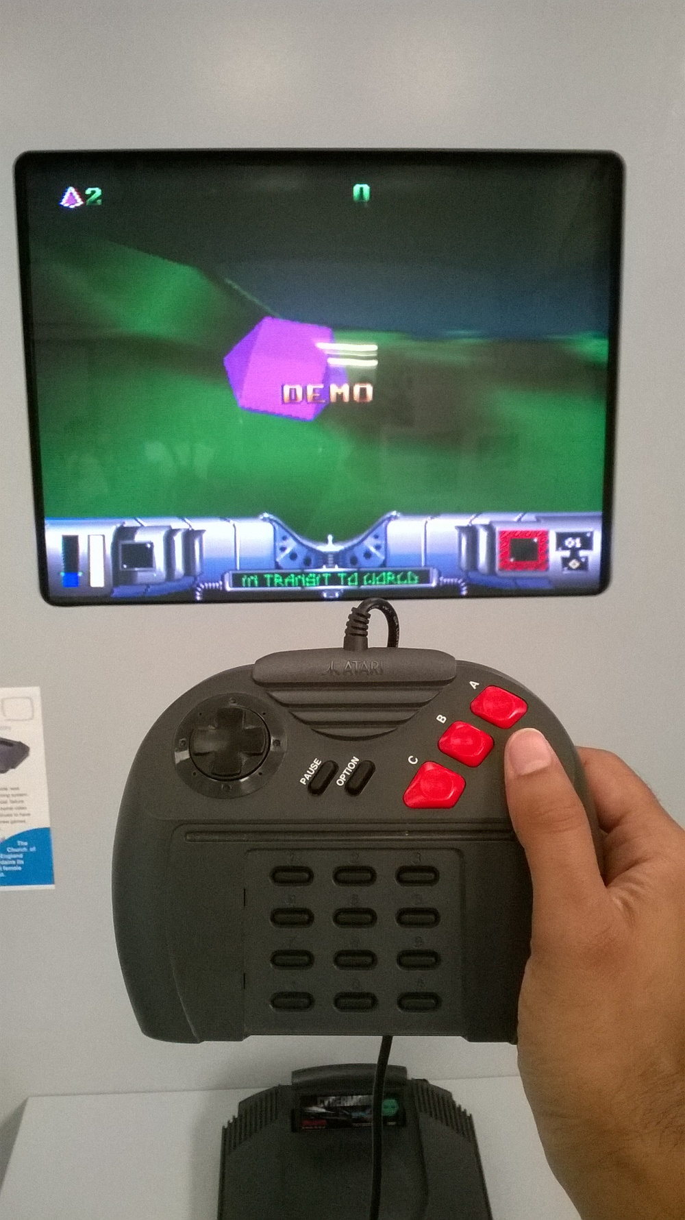 Atari Jaguar and Cybermorph