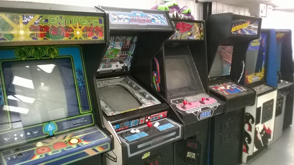 Arcade machines in need of repair