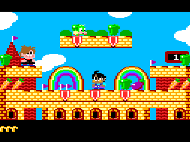 Rainbow Islands Dead Pixels Stylee