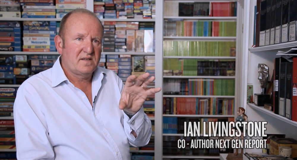 Ian Livingstone 'The Next Gen Report'