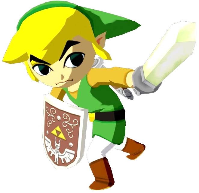 The Legend of Zelda- Link