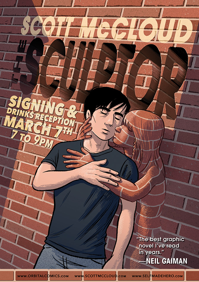 Scott McCloud Signing at Orbital London