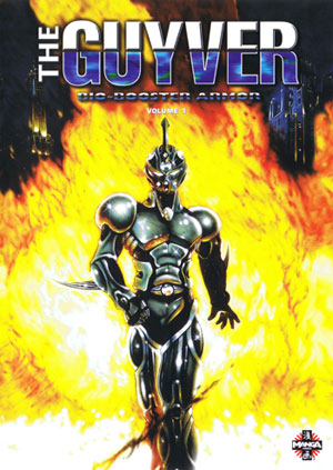 I loved the Guyver series, although it ended only a third into the manga.