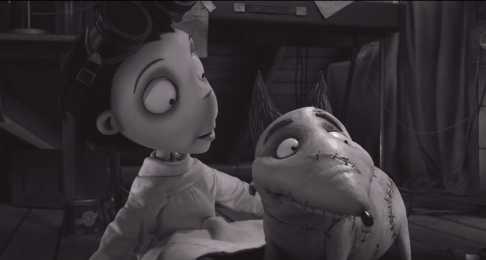 Frankenweenie, a beautiful film which will make many a grown man cry... including this one!