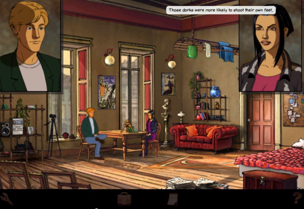 Broken Sword is a true classic of the Point and Click genre- and one of my favourite games of all time.
