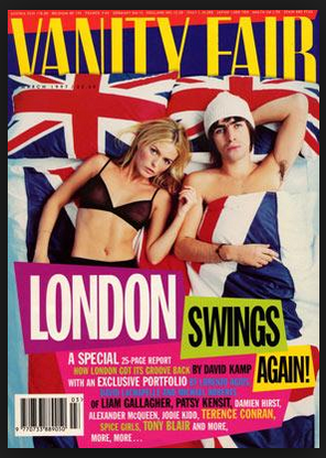 Vanity Fair London Swings Again Oasis