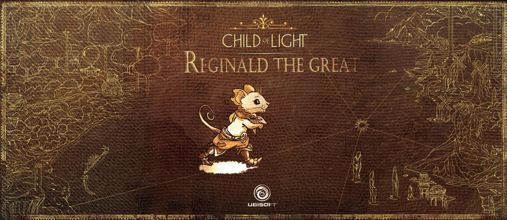 Reginald the Great UbiArt e-book