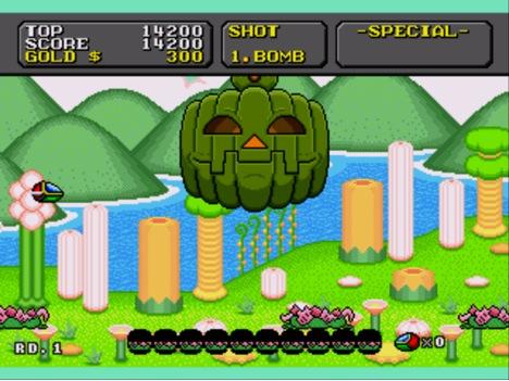 Fantasy Zone Megadrive
