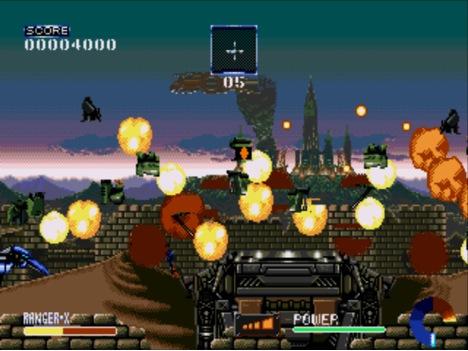Ranger X Megadrive