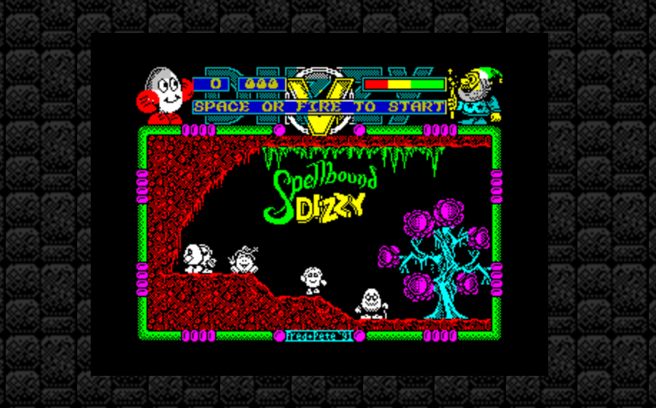 I'm excited to be finally playing Spellbound Dizzy!