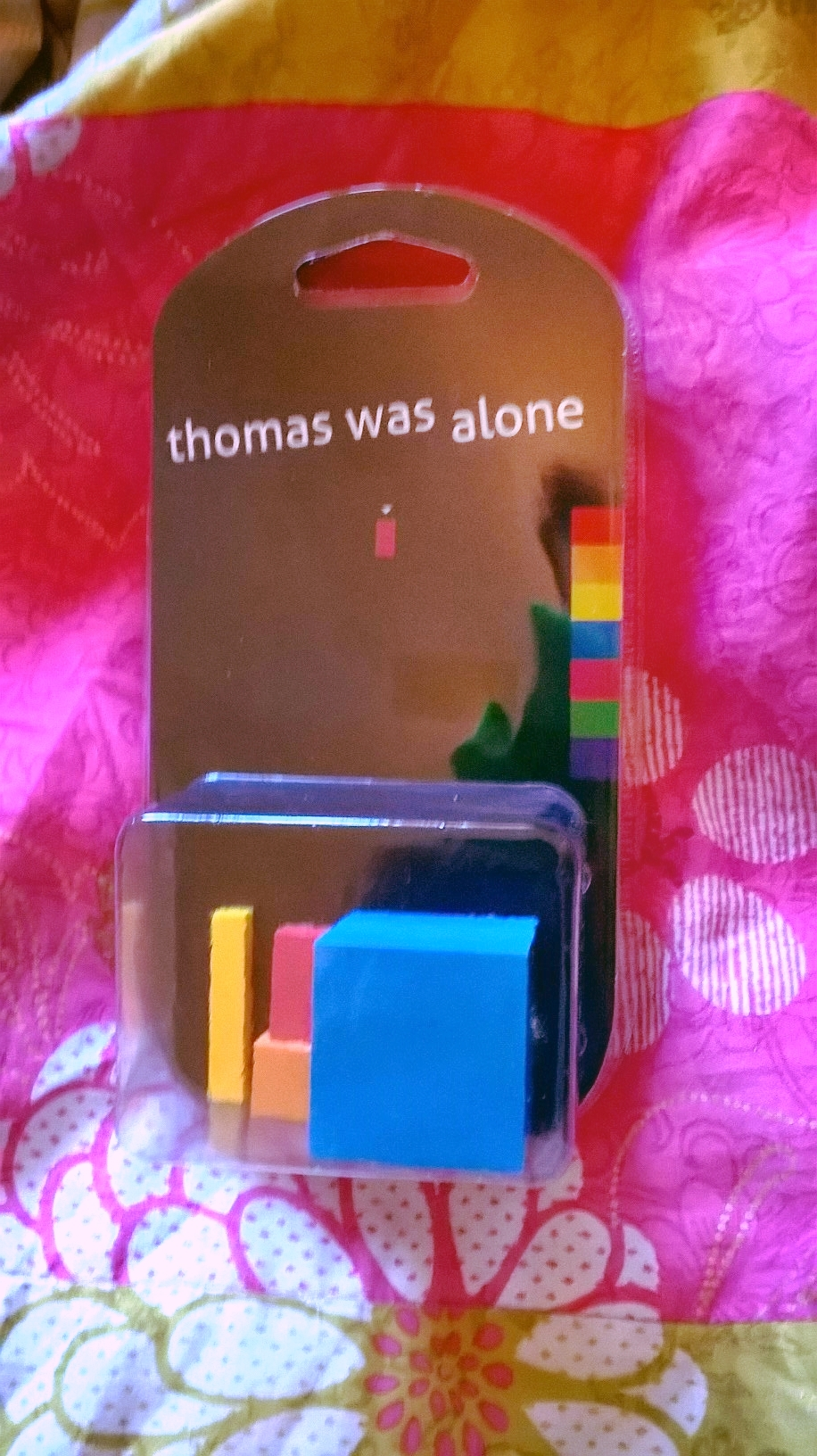 Thomas Was Alone Action Figure