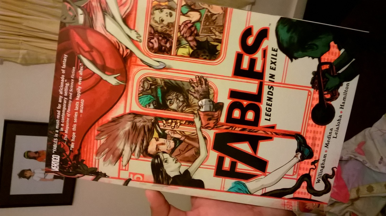 Fables Volume 1 Graphic Novel