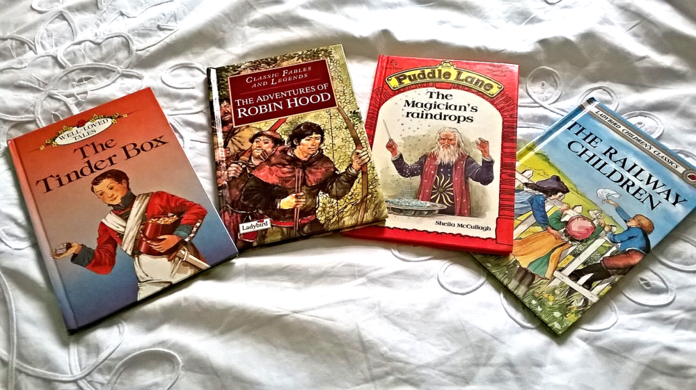 My collection of Ladybird books- all bought from charity shops in the past couple of weeks.