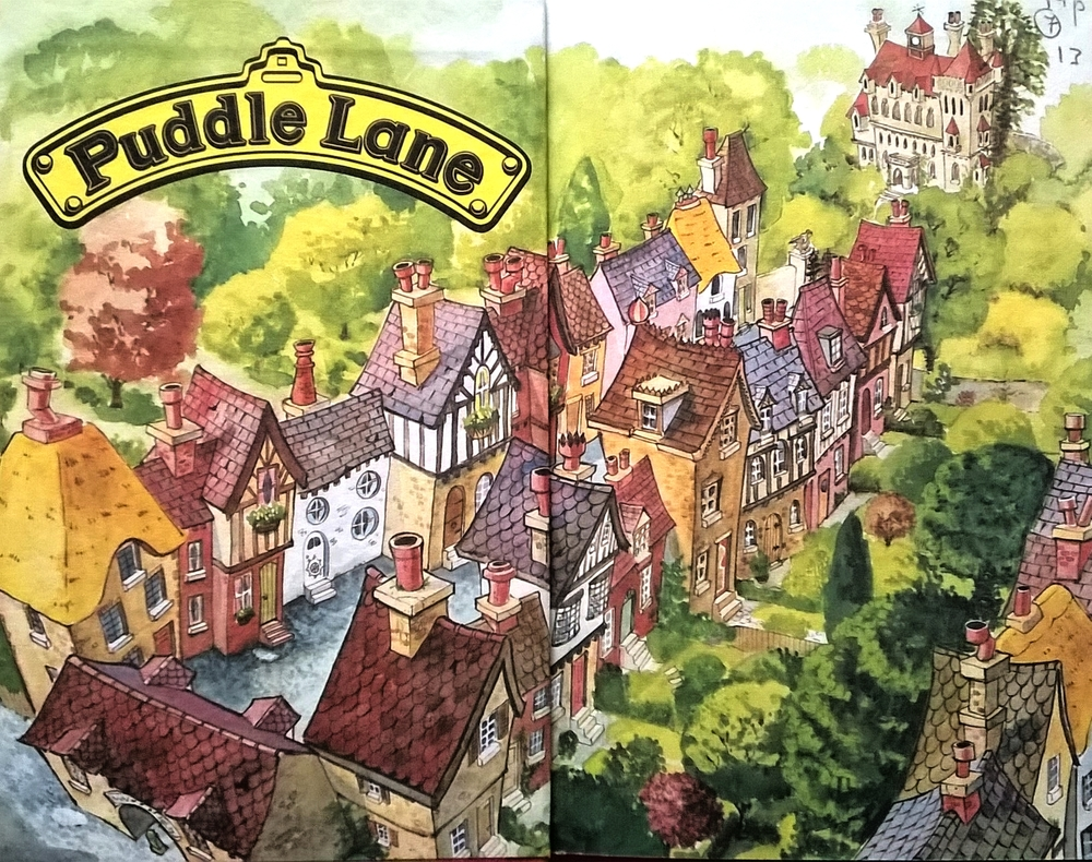 The Puddle Lane series of books were really exciting and required a higher reading level- at least that's what I remember as a kid!
