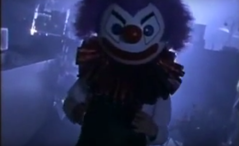 The Crimson Clown is very creepy!