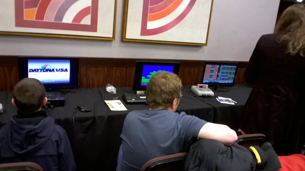 Lots of machines to play at the London Gaming Market