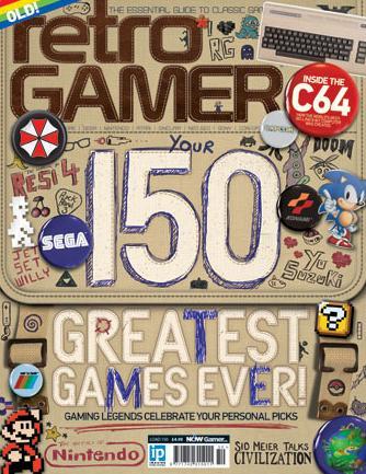 Retro Gamer 150 Greatest Games Ever