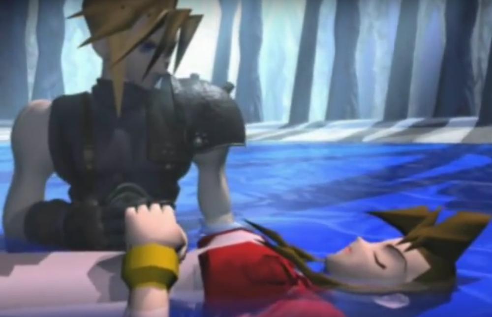 Final Fantasy 7 Aeris Death Scene