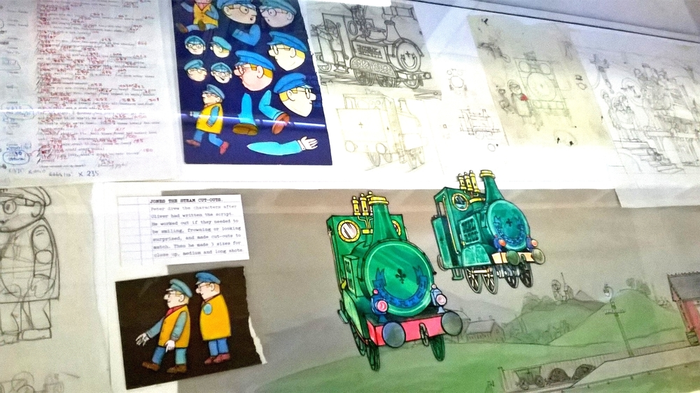 Ivor the Engine Original Art
