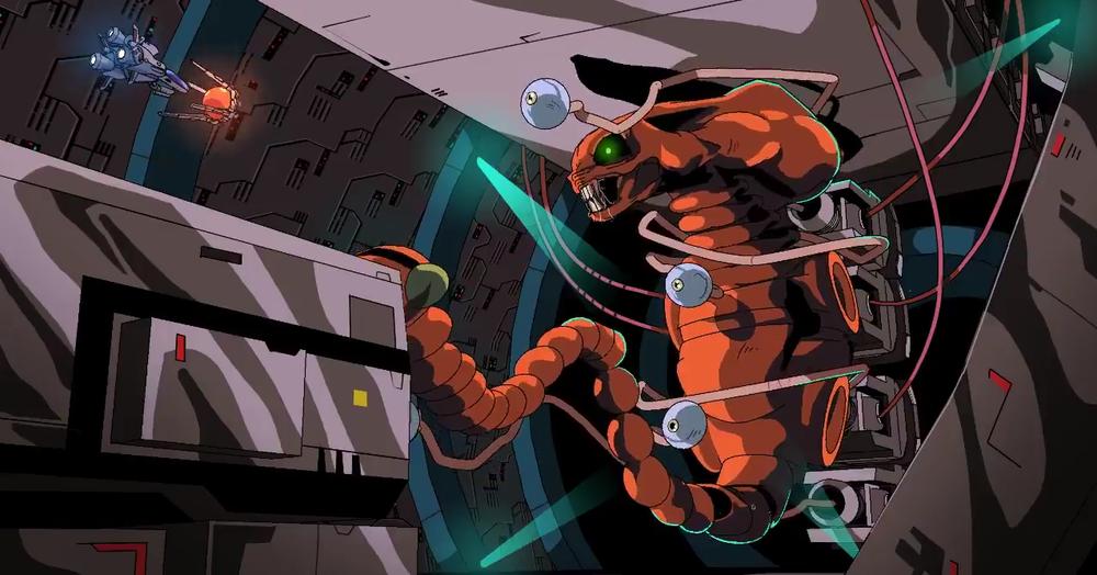 R-Type animation