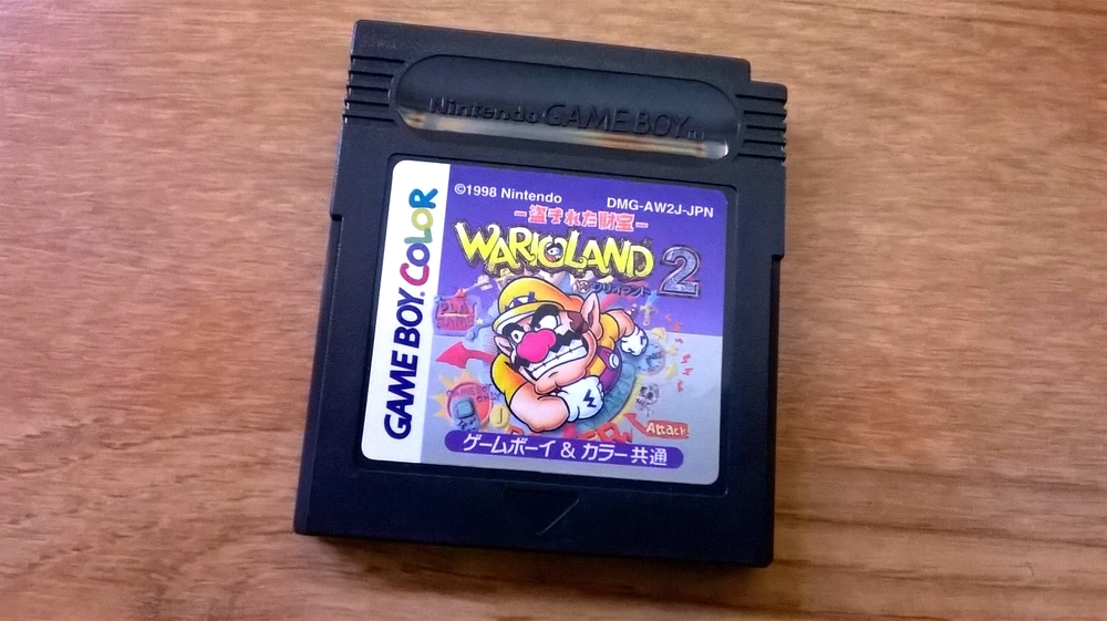 Warioland 2 Gameboy Colour