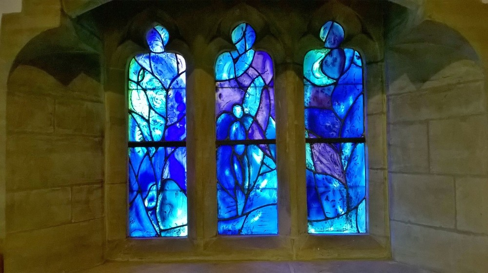 All Saints Chagall Stained Glass Windows