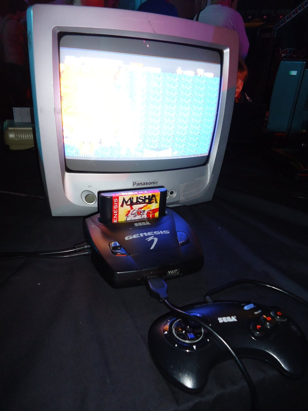 PLAY Expo Margate - Megadrive 3 and MUSHA