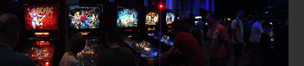 There were 10 pinball machines set to freeplay... I was in flipping heaven!