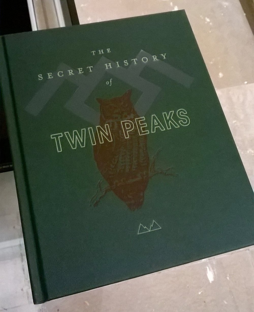 The Secret History of Twin Peaks is a beautifully presented book ©Macmillan/ Mark Frost