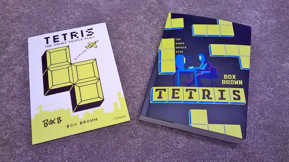 Tetris: The Games People Play by Box Brown © Self Made Hero/ Box Brown