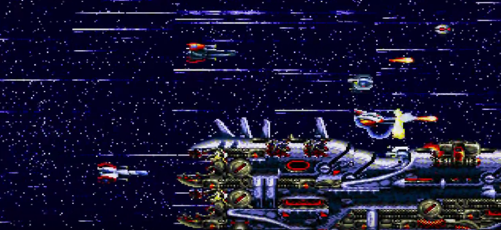 Thunderforce 4 © Sega/Technosoft