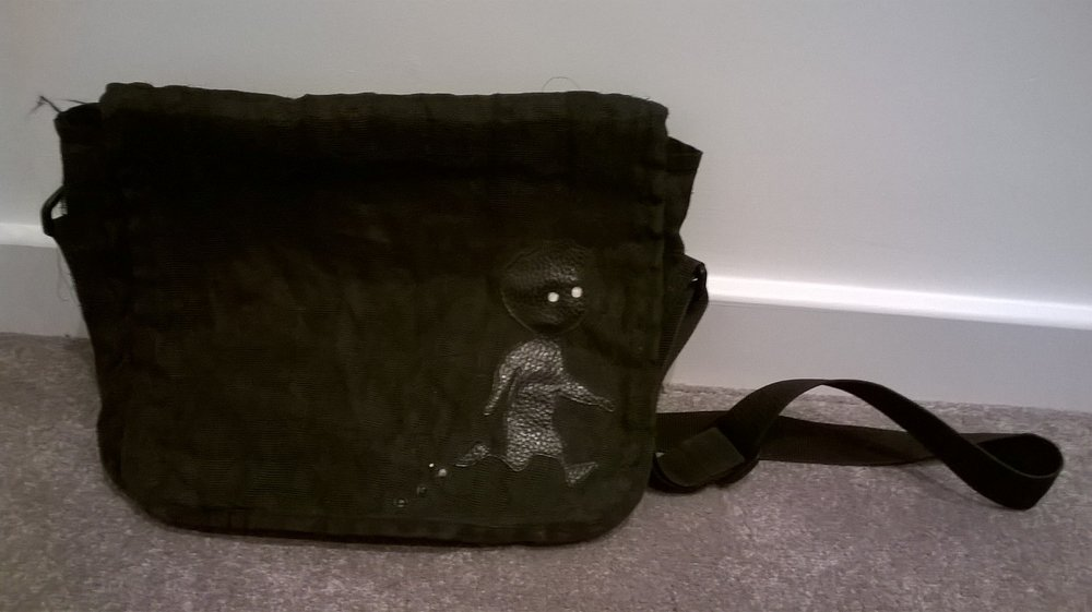 I got this Limbo inspired bag made in Cambodia... it lasted 5 years but finally has given up the ghost.