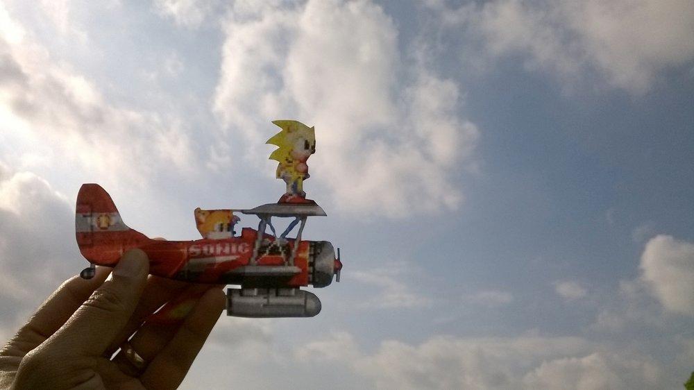 Sonic 2 Papercut