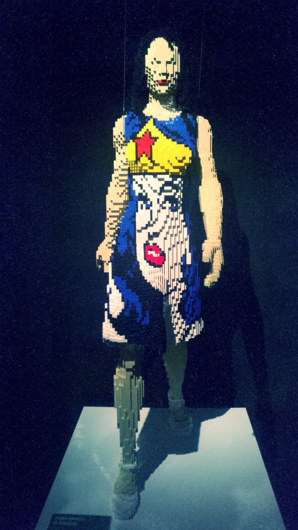 DC: Art Of the Brick