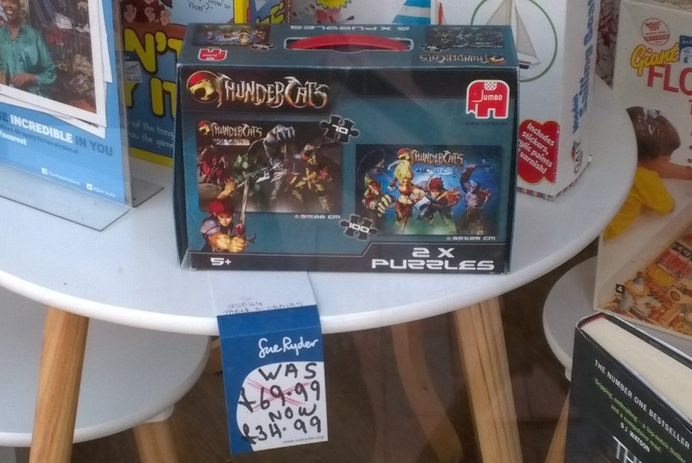 This ThunderCats puzzle is pretty expensive but I'm sure a fan of the show will snap it up.