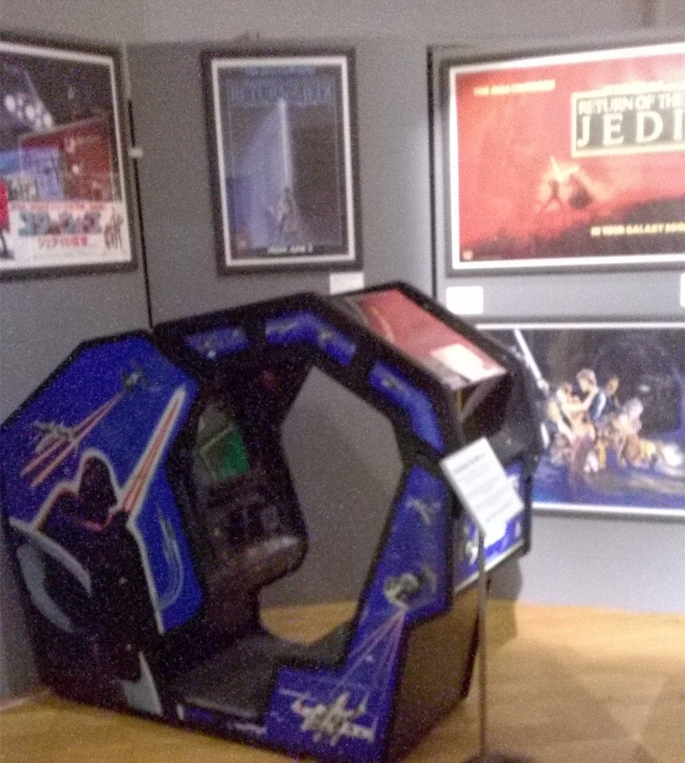 Atari Arcade Machine. May The Toys Be With You: Star Wars Toys Exhibition