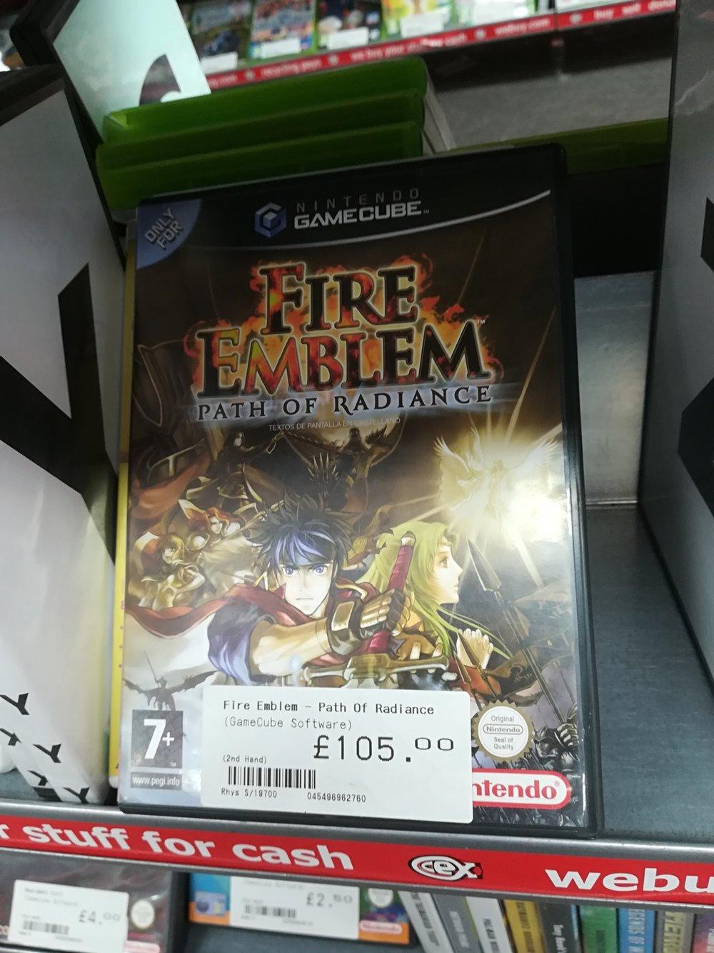 Fire Emblem: Path of Radiance 5/7/18