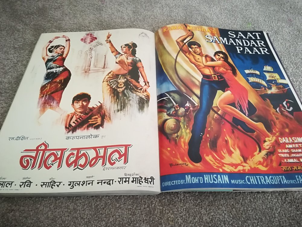 Bollywood Posters by Jerry Pinto