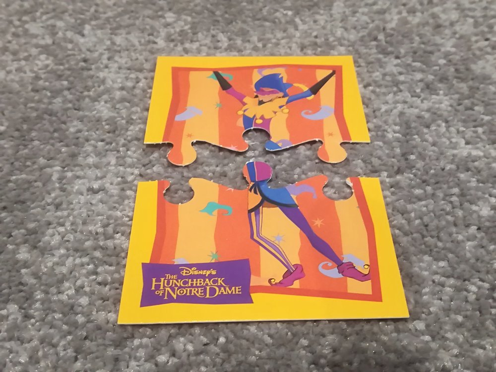 Disney Hunchback of Notre Dame Trading Cards