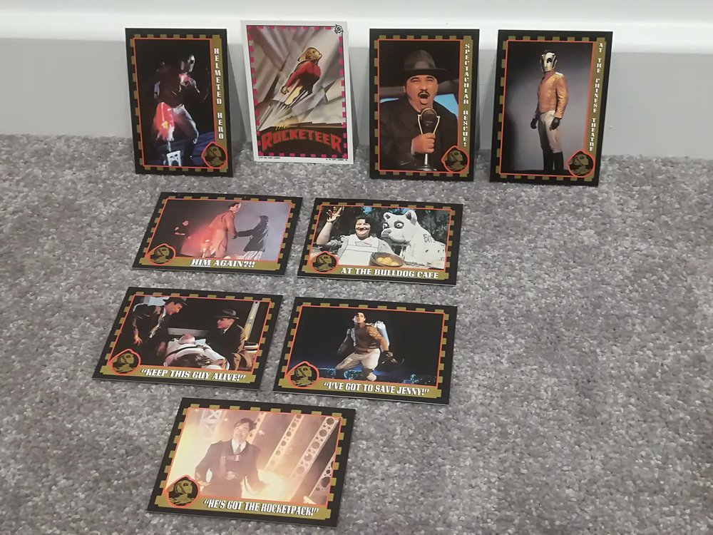 Rocketeer Trading Cards