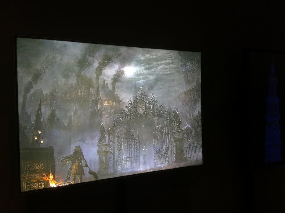 V and A Video Games: Design/ Play/ Disrupt- Bloodborne