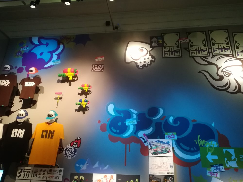 V and A Video Games: Design/ Play/ Disrupt- Splatoon