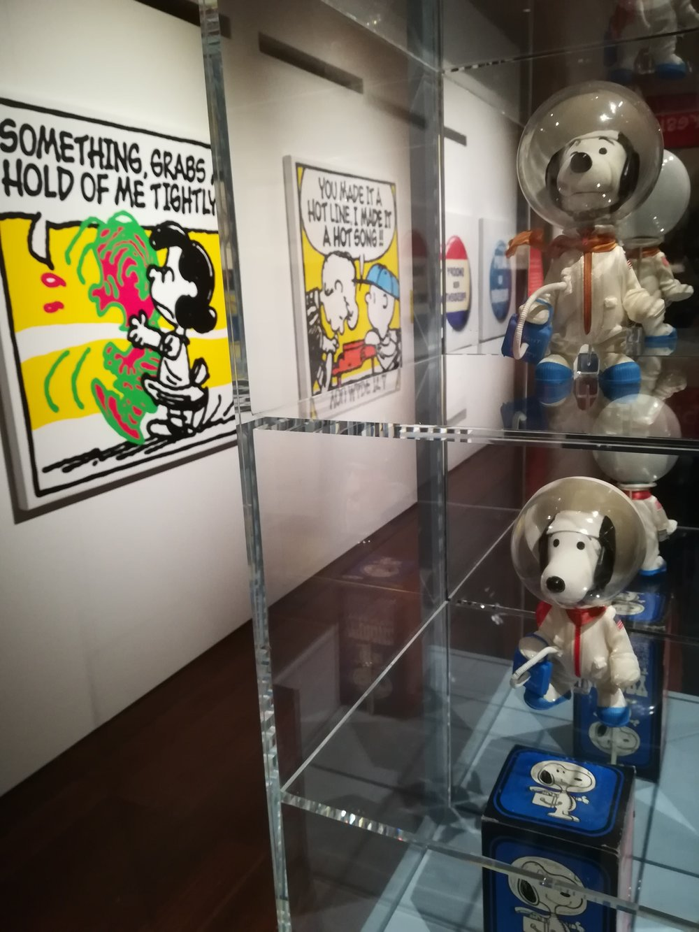 Good Grief, Charlie Brown Exhibition in London