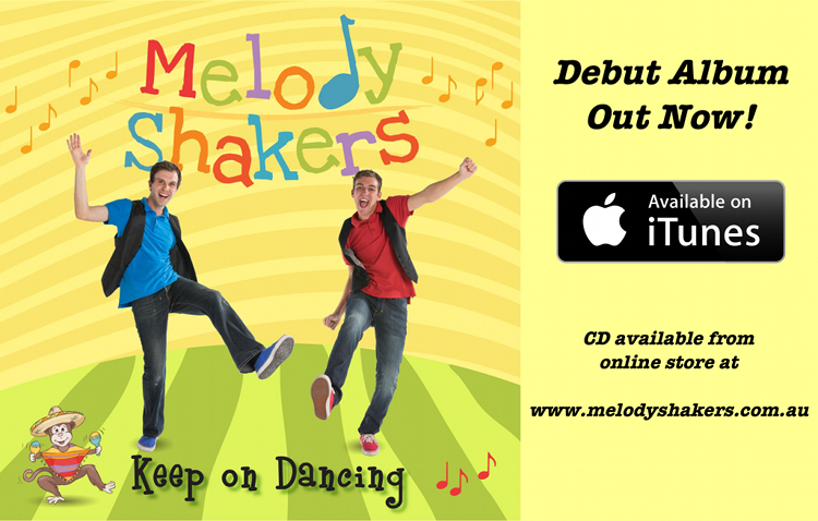 Melody Shakers|Keep on Dancing