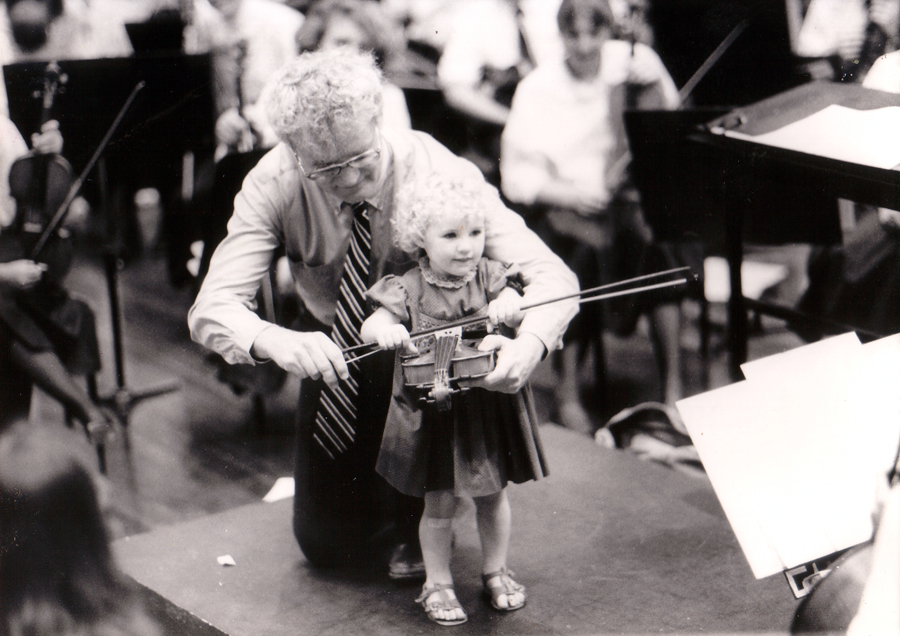 1986 Babies Proms with Richard Gill Image via Western Australia Youth Orchestras http://wayo.net.au