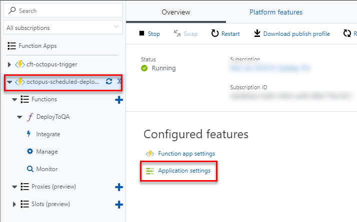 AzureFunctions-ApplicationSettings