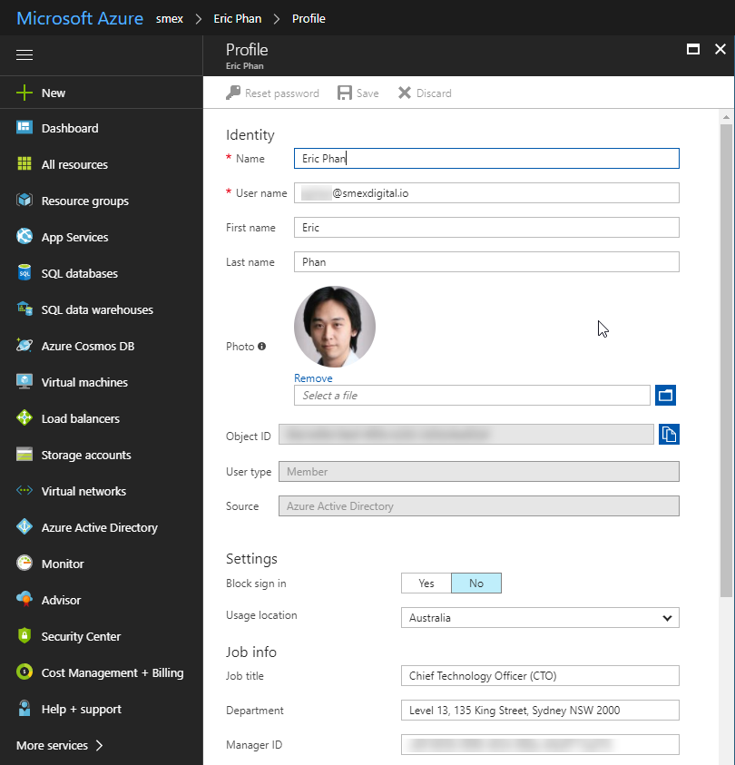 Azure Active Directory - Bulk updating user profile