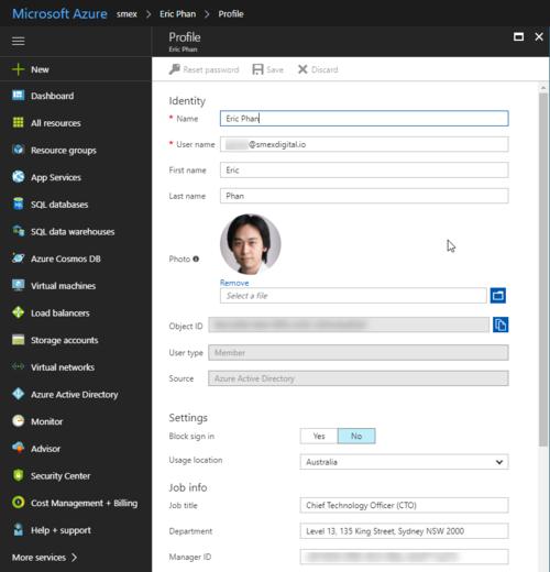 Azure Active Directory - Bulk updating user profile attributes using