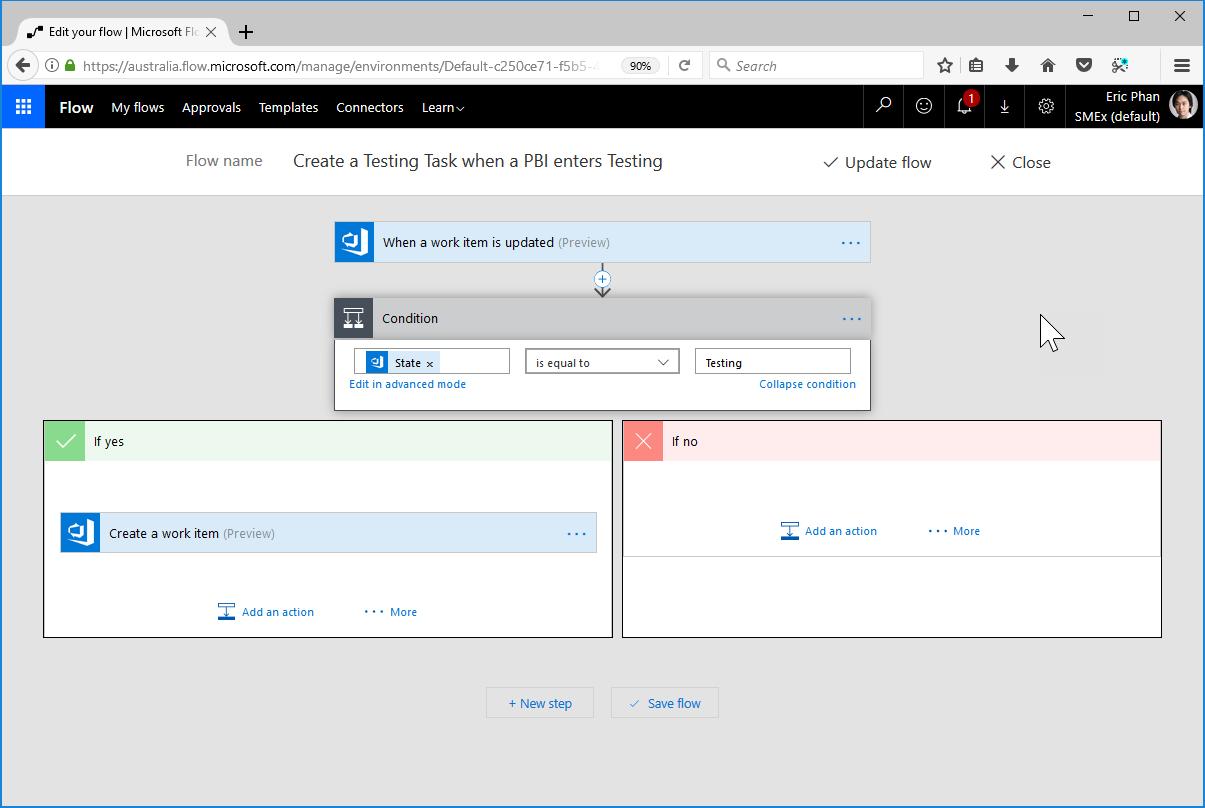 Auto creating tasks/work items in Visual Studio Team